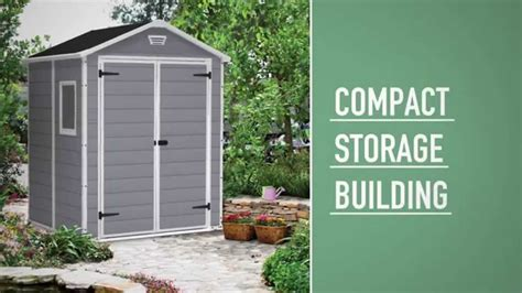Keter Manor Shed 6x5 by Keter Manor Shed 6x5