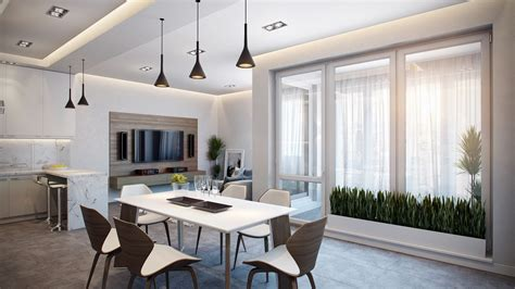 3 room apartement in the green apartments for rent in stylish apartment in germany visualized
