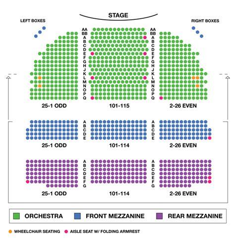 broadway theatre broadway seating charts broadwayworldcom