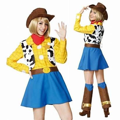 Woody Disney Cosplay Costume Female Halloween Adult