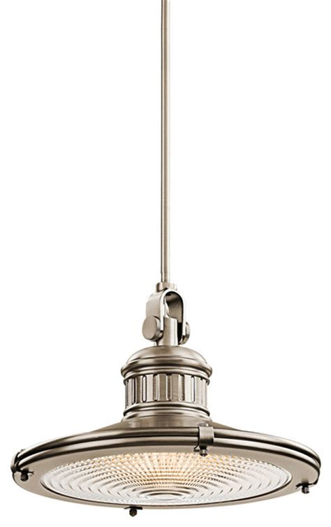 kichler lighting 42438ap sayre antique pewter pendant