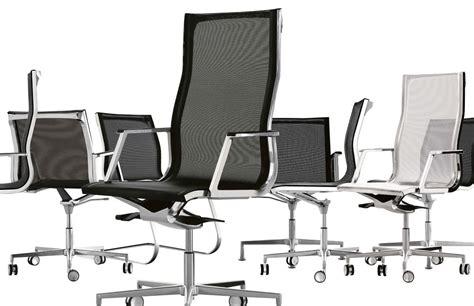 Poltrone Ufficio In Rete : Sedia Direzionale Con Schienale In Rete Per Ufficio