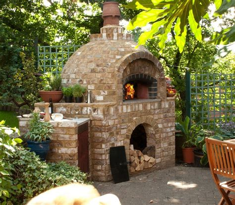 Backyard Pizza Oven Diy by Outdoor Brick Ovens 16 Easy To Replicate Ideas Houz Buzz
