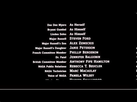 Tv Credits Template by Contact End Credits Youtube