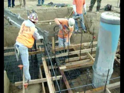 vres  elevator pit foundation pour youtube