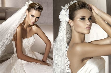 Wedding Hairstyles With Veil :  Simple & Natural Bridal Hairstyle
