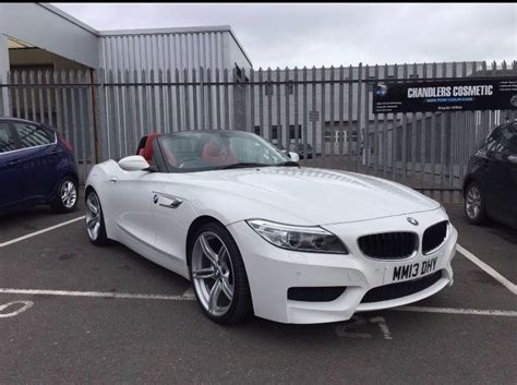 White Bmw For Sale by Bmw Z4 White Leather For Sale In Hove East Sussex
