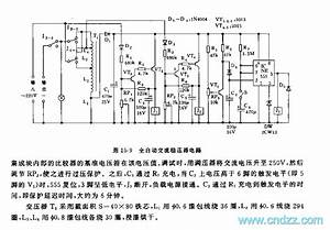 555 Automatic Ac Voltage Stabilizer Circuit