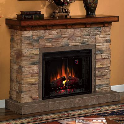 grand canyon electric fireplace cabinet mantel package