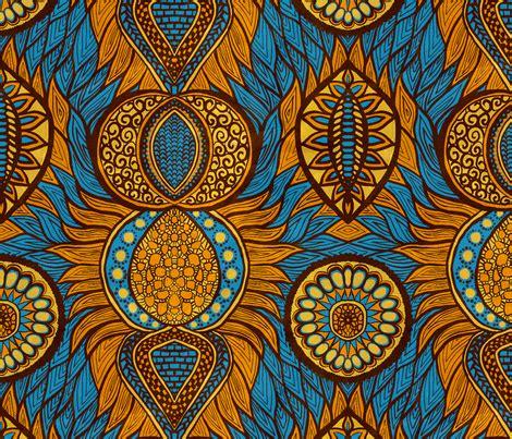 African Print fabric - svetlana_prikhnenko - Spoonflower