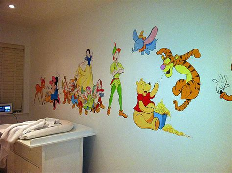 disney murals for nursery childrens murals wall paintings for childrens bedrooms and nurseries by mural artist