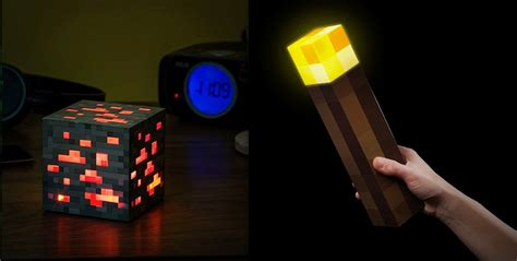 Redstone Lamps At Night by New Minecraft Light Up Redstone Ore Night Light Amp Light Up