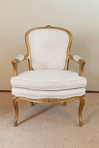 A French Gilt Framed Fauteuil Antiques Atlas