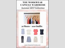 Create a Workwear Capsule Wardrobe On a Budget 10 Summer