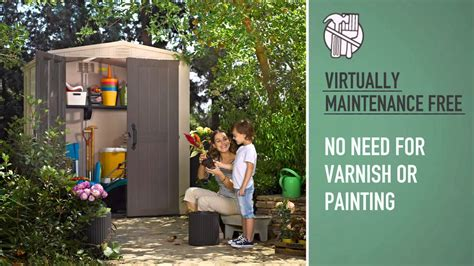 Keter 6x6 Shed by Keter Factor 6x6 Shed