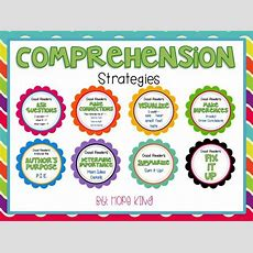 Free Comprehension Strategies!  Kinderland Collaborative  Reading Comprehension Strategies