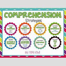 Free Comprehension Strategies!  Kinderland Collaborative