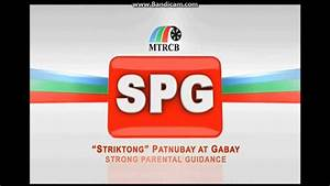 MTRCB Rated SPG [Strong Parental Guidance] - (English ...