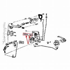 1964-1966 Door Lock Pawl Bushing Kit
