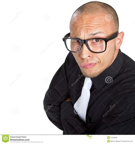 young nerdy businessman royalty  stock  image