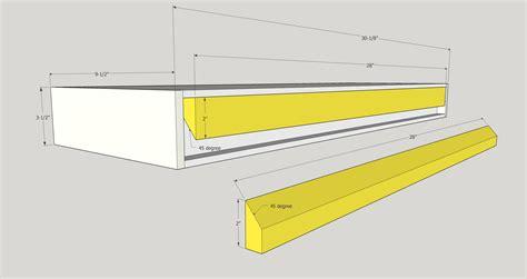 modern floating shelves  buildit