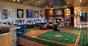 best baseball man caves - Let's Design The Best Man Cave