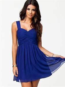 Robe de soiree bleu indigo la mode des robes de france for Robe bleu indigo
