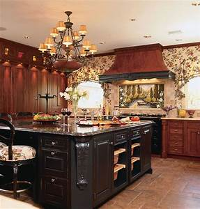 kitchendesignscom rustik kok new york av kitchen With kitchen design by ken kelly
