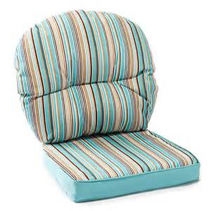wilson fisher 174 turquoise nantucket outdoor reversible replacement chair cushion set big lots