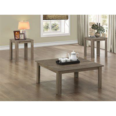 stylish  piece living room table sets