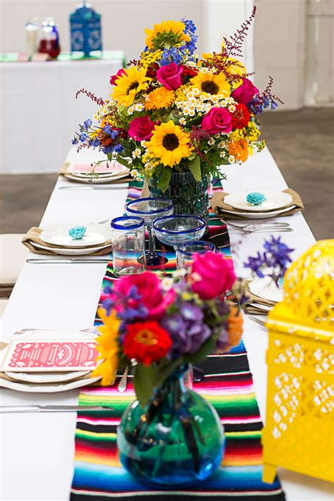 How To Style A Mexican Themed Table Bespokebride