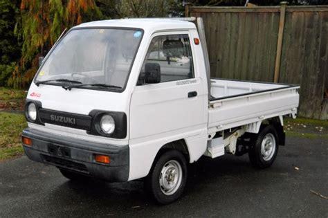1990 Suzuki Carry 660cc 4wd (rhd) Kei Truck For Sale