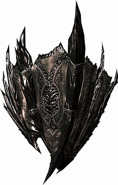 Skyrim Shield Daedric Armor Elder Scrolls Shields