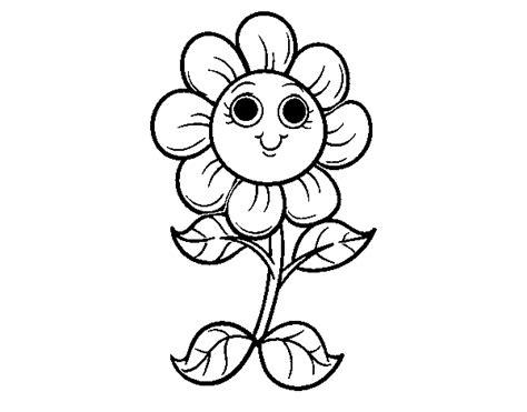 fiori da disegnare az colorare