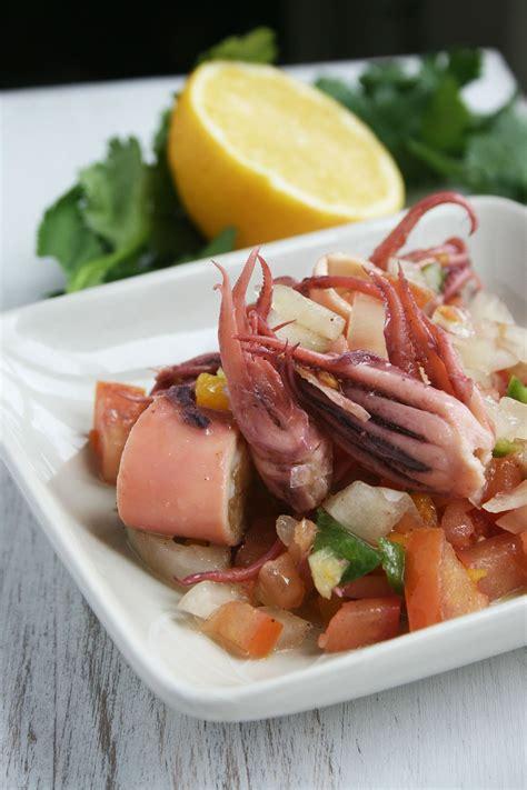 recette cuisine grecque salade de calamars à la grecque cette cuisine que j 39 aime