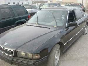 Owners Manual Bmw 740i 98