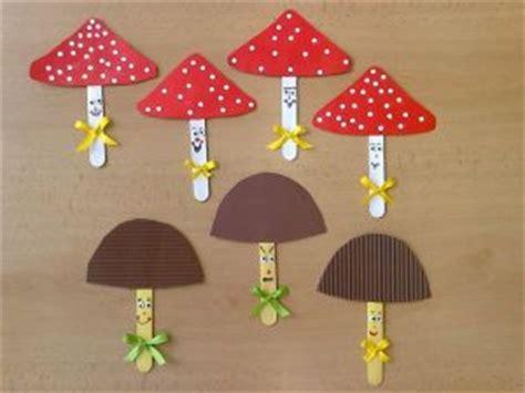 mushroom craft idea  kids crafts  worksheets