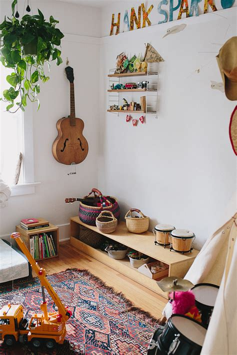 How To Decorate A Bohemian Kids' Room With Lots Of