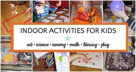 giant list  indoor activities  kids