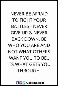 Best 20+ Never Back Down Quotes ideas on Pinterest | Never ...