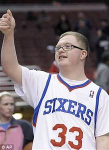 Philadelphia 76ers sign Kevin Grow with Down's Syndrome ...