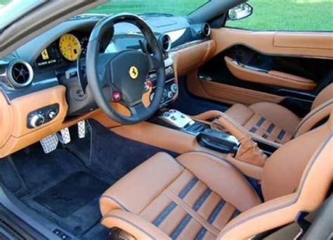 The interior of the ferrari 599 gtb fiorano. 2007 Ferrari 599 GTB Fiorano - Interior Pictures - CarGurus