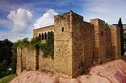 Castell cartoixa de Vallparadís, Terrassa, Catalonia ...