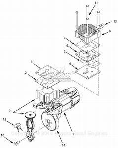 Campbell Hausfeld Wl650801 Parts Diagram For Pump Parts
