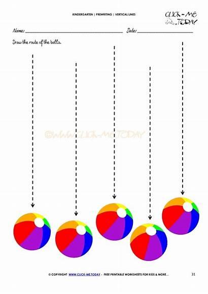 Vertical Lines Worksheet Prewriting Worksheets