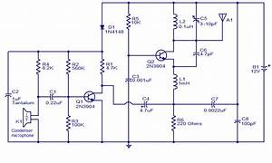 200m Fm Transmitter Simple Circuit