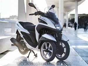 Scooter 3 Roues 125 : 3 roues yamaha tricity mbk tryptik 125 2015 la version d finitive d voil e motostation ~ Medecine-chirurgie-esthetiques.com Avis de Voitures