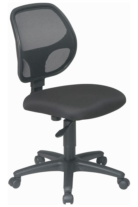 office task chairs em2910 office armless mesh screen back office task