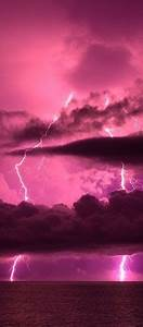 pink, lightning, and, sky, , love, everything, pink