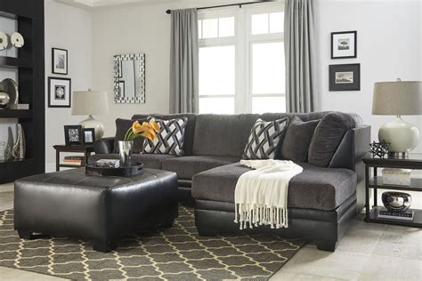kumasi smoke raf sectional  ashley coleman furniture
